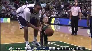 Download 5-Year-Old JP Gibson Plays for the Utah Jazz Video