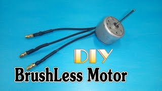 Download How to make Brushless Motor from motor DVD, VCD player Video