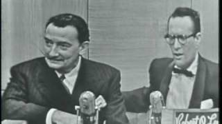 Download Salvador Dali on ″The Name's the Same″ (first appearance, January 19, 1954) Video
