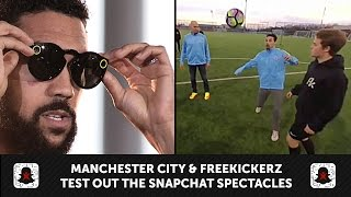 Download Manchester City & Freekickerz - Snapchat Spectacles Test Video