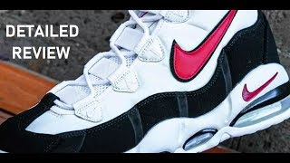 Download Nike Air Uptempo 95 Retro Black Red Retro Sneaker Detailed Review Video