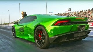 Download Twin Turbo DRAG Lambos…DAMN These Sound Good! Video