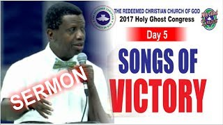 Download Pastor E.A Adeboye Sermon @ RCCG December 2017 HOLY GHOST SERVICE Video