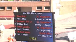 Download JCSU's Men in the 400m Final (2013 NCAA DII Outdoor Championships) Video