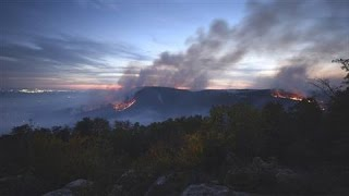 Download Drought Feeds Wildfires in Southeast U.S. Video