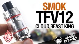 Download Smok TFV12 Cloud Beast King + tutorial RTA (dual y triple coil) + TV12 VS TFV8 / revisión Video