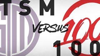 Download TSM vs. 100 - Week 8 Day 2 | NA LCS Summer Split | TSM vs. 100 Thieves(2018) Video