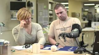 Download PROSTHETIC ROBOTIC ARM on a Wounded Warrior Video