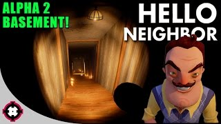 Download Basement/ENDING Reaction! ►Beating Hello Neighbor◄ (Hello Neighbor Alpha 2 Gameplay) Video