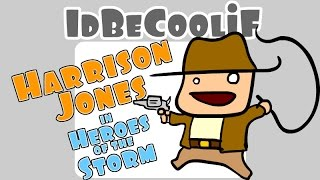Download idBeCoolif - Harrison Jones in Heroes of the Storm Video