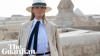 Download Melania Trump praises Kavanaugh but says 'I have my own voice' Video