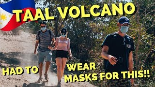 Download We couldn't breathe on TAAL VOLCANO - the smallest active Volcano on Earth Video