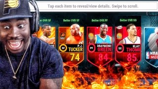 Download OFFICIAL LAUNCH TIP-OFF PACK OPENING! NBA Live Mobile 16 Gameplay Ep. 10 Video