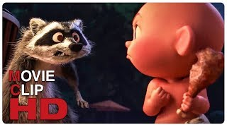 Download Jack Jack Vs Raccoon - Fight Scene | INCREDIBLES 2 (2018) Movie CLIP HD Video