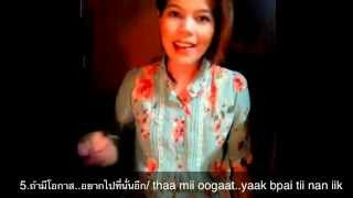 Download Thai lesson 52 : For upper beginner to practice Video