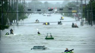 Download Floods surge in Houston as water flows from reservoirs Video