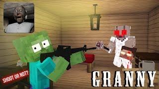Download Monster School : GRANNY HORROR GAME CHALLENGE - Minecraft Animation Video