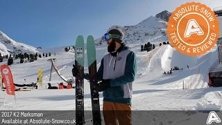 Download 2016 / 2017 | K2 Marksman Skis | Video Review Video
