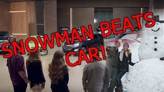 Download Snowman destroys car! GM in hot water over ads? Video