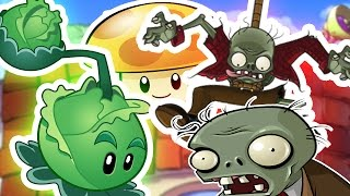 Download Plants VS Zombies - TAKING ON THE ROOF Video
