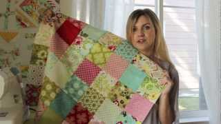 Download Patchwork: Chain Piecing and Nesting Seams How To Video