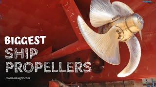Download 8 Biggest Ship Propellers Video
