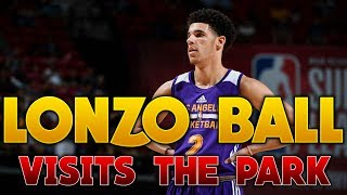 Download Lonzo Ball Visits MyPark in NBA 2K17! Video