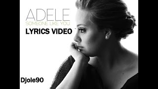 Download Adele - Someone Like You (Lyrics) Video