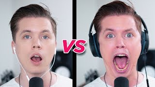 Download SINGING while wearing NOISE CANCELLING HEADPHONES Video
