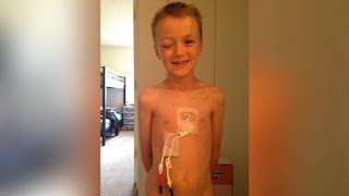 Download This 7-Year-Old Found Out He Has Cancer After Donating Hair to Other Sick Kids Video