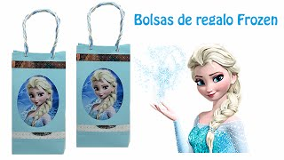 Download Como hacer Bolsas de regalo de Frozen Video