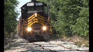 Download Train derailment on the ND&W Railroad Video