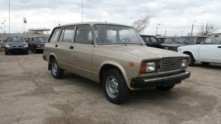 Download 2012 LADA VAZ 2104. Start Up, Engine, and In Depth Tour. Video