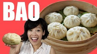 Download How to make BAO from the Pixar movie Bao - Chinese steamed bun recipe Video