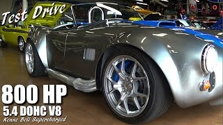 Download 800 HP Cobra Tearing Up the Streets Video