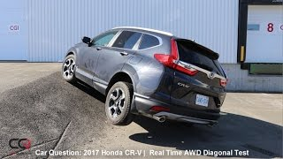 Download Real Time AWD Diagonal Test 2017 Honda CR-V | The MOST complete review: Part 6/8 Video