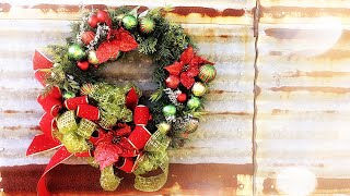 Download Dollar Tree Wreath Disaster - DIY Fail, Ribbon Fail, Life Fail - Christmas 2019 (that i fixed) Video