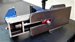 Download Making The Hydraulic VISE DIY [Plans] Video