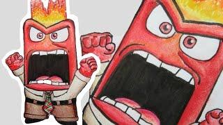 Download Como desenhar a Raiva de Divertida Mente | How to draw Anger from inside out Video