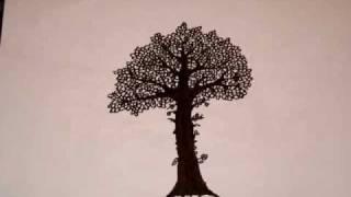 Download Stop motion- growing tree Video