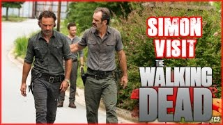 Download The Walking Dead Season 7 Second Half - Simon Visits Alexandria in New Preview Pics! Video