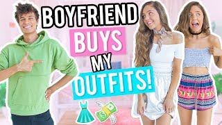 Download BOYFRIEND BUYS OUTFITS FOR GIRLFRIEND! Shopping Challenge 2017! Video