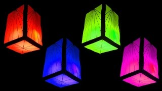 Download How to Make Fancy Paper Lantern Cube (Christmas and Home Decorating Crafts) - HD Video