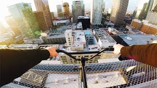 Download RIDING BMX ON THE CRAZIEST ROOFTOP Video
