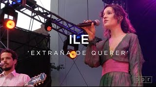 Download iLe: Extraña de Querer | NPR Music Front Row Video