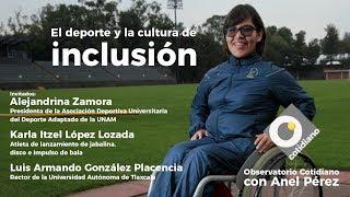 Download El deporte y la cultura de la inclusión. Observatorio con Anel Pérez y Alejandrina Zamora Video