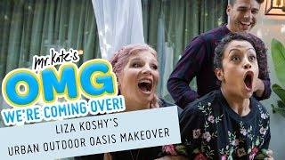 Download Liza Koshy's Urban Outdoor Oasis Makeover! | OMG We're Coming Over Video