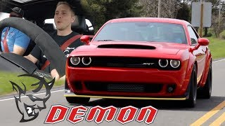 Download First Time driving a Dodge Demon Joyride Review | My Reaction Video