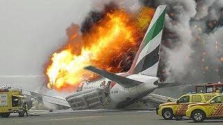 Download Desperate Escape | Boeing 777 Crash in Dubai | Emirates Airlines Flight 521 | 4K Video