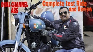 Download New Royal Enfield Classic ABS Signals 2018 test Ride and Review in Hindi. Video